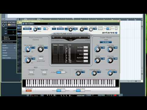 GreyFoXBeats: Autotune VST on Cubase 5