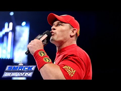 John Cena Sounds Off About His Match Against Brock Lesnar: Smackdown, Sept. 5, 2014 video