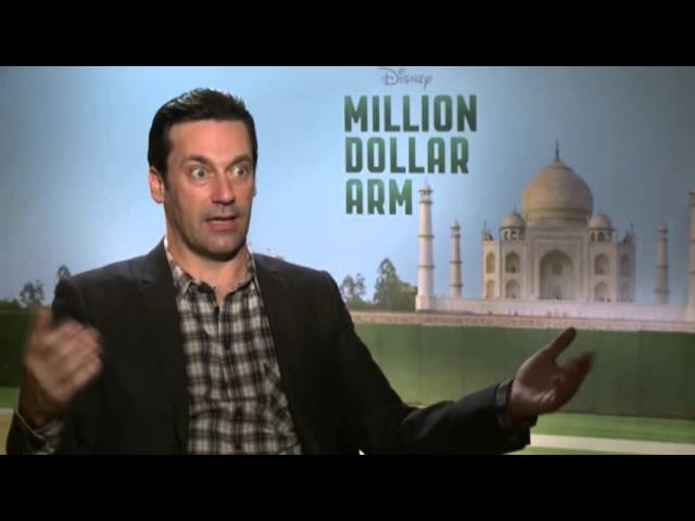 "Hamm on Baseball and His ""Million Dollar Arm"""
