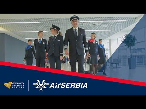Air Serbia Close-Up