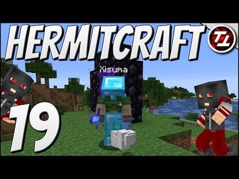 Hermitcraft VI: #19 - Burglars and Bubble Battles!