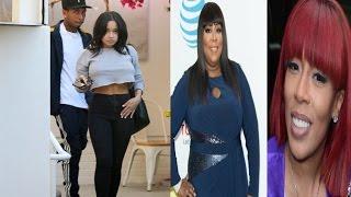"""Tyga's alleged """"girlfriend"""" Jodan speaks out + K. Michelle GOES OFF on Loni Love & Angela Yee!"""