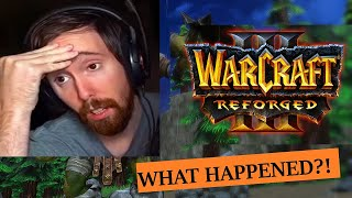 Asmongold Reacts To Warcraft 3 Reforged Release And Talks About Blizzard!!!