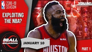How James Harden Is Exploiting The NBA Part 1