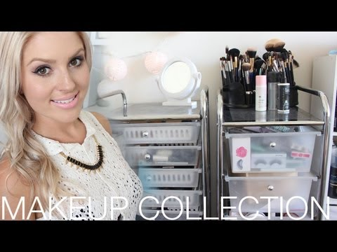 Makeup Collection & Storage!  Shaaanxo