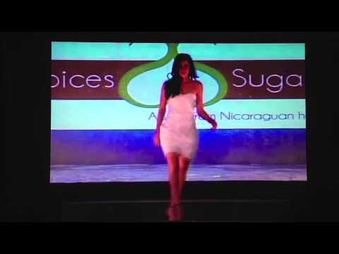 Pasarela de Nastassja Bolivar - Miss Nicaragua 2013