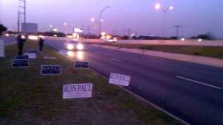Meetup groups first Ron Paul Sign Wave