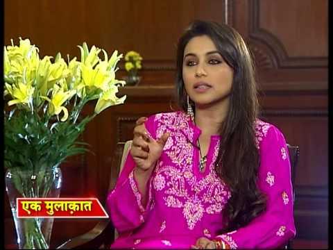 Manoj Tibrewal Aakash interviewed Rani Mukherjee for Ek Mulaqat (Full Interview)