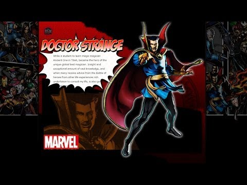 Marvel Heroes Dr. Strange Gameplay Highlight and Skills Preview