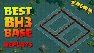 Clash of Clans - BEST BUILDER HALL 3 (BH3) FARMING BASE, EFFECTIVE TRAPS + REPLAYS! 99% WIN RATE!