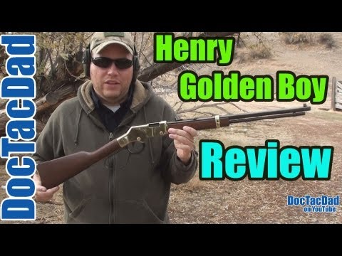 Henry Golden Boy .22LR Review
