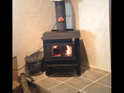 Installing A Wood Burning Stove Using An Existing Masonry Chimney Start To Finish Parts 1 2 3