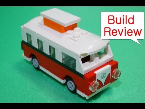 Lego 40079 Mini Volkswagen T1 Camper Van - Build Review