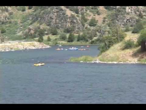 Floating the Madison River Montana