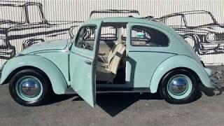 P10513 - 1961 Volkswagen Beetle Ragtop