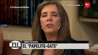 "Cerruti habla del ""papelito de Caputo"" - PH Podemos Hablar 2018"