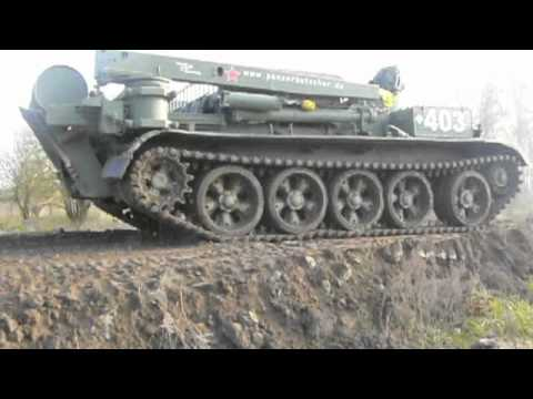 Crash Test: Russian T-55 Tank vs Hi-Fi DAC Chord QBD