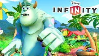 SULLEY no Disney Infinity 2.0 Toy Box Resgate Tropical do Stitch #4