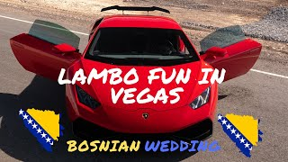 Lamborghini Huracan Las Vegas Experience | Royalty Exotics | Acceleration At a Wedding