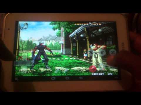 The king of fighters 99 Plus para Android tiger arcade - galaxy tab 2 7