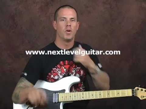0 Heavy Metal Rhythms thrash fast picking guitar lesson rhythm playing with drum machine