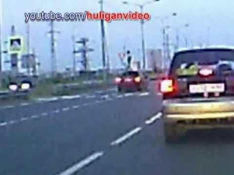 Фатальное ДТП Сургут. Пешеход VS Mitsubishi Lancer на 160км/ч