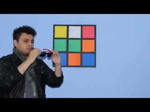 Stop Motion del cubo de Rubik