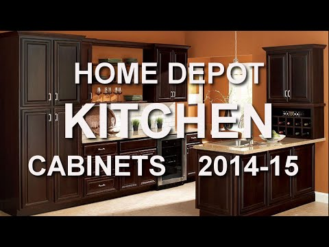 HOME DEPOT Kitchen Cabinet Catalogs 2014-15