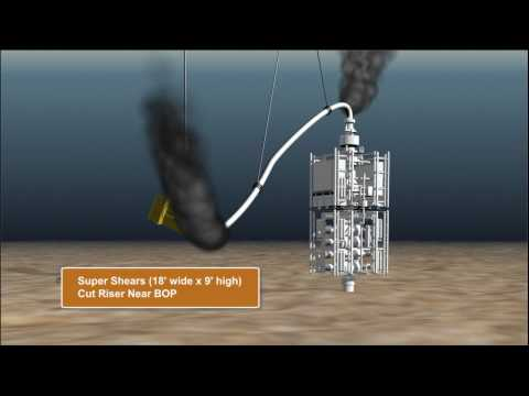 LMRP Top Hat Oil Containment Dome to Cap Gulf Oil Spill
