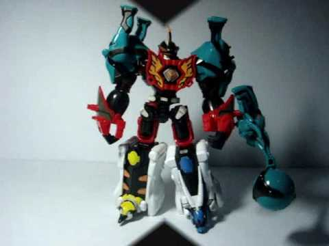 PRJF - CT - Jungle Master Megazord with Elephant Spirit ...