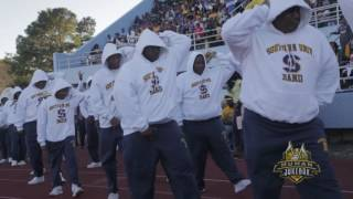 Southern University Alumni Band Marching In Homecoming 2016