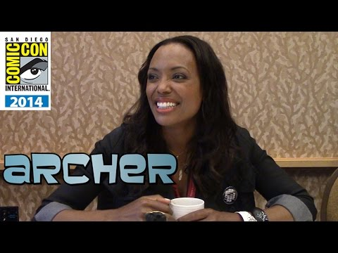 Archer Season 6 - Aisha Tyler Interview - Comic-Con 2014