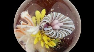 Making an Implosion Marble in Soft Glass