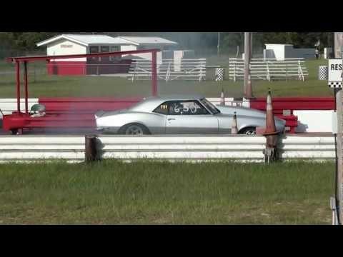Late 60's Chevy Camaro @ Panama Beach Raceway