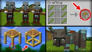 ✔ Minecraft 1.14 Update - 10 Features That Were Added
