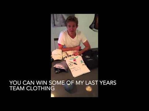 Nico Rosberg: Facebook Competition/Verlosung