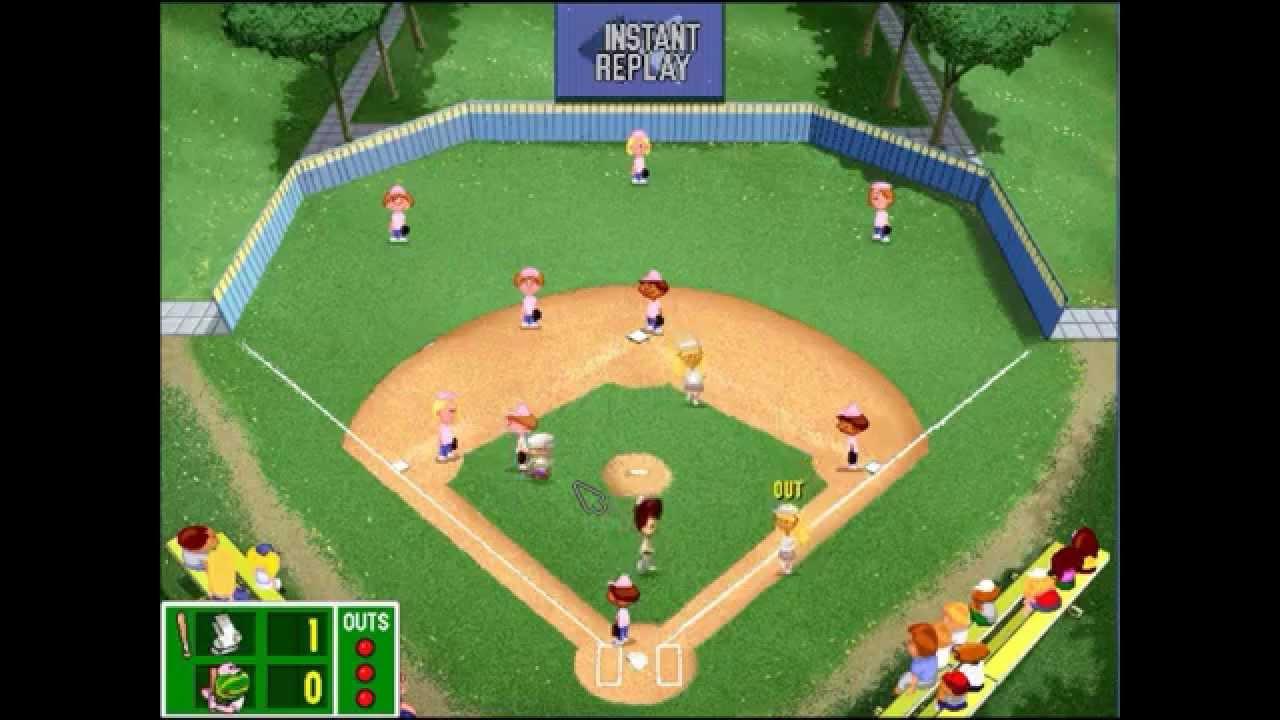 backyard baseball league pc tournament game 15 come on sister