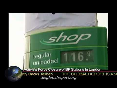 Activists Force Closure Of BP Stations In London