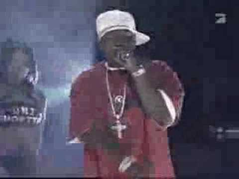 50 Cent Ft. Olivia Candy Shop (live) video