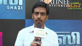 Director Sankalp Reddy At Ghazi Movie Press Meet