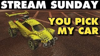 Rocket League | Stream Sunday (Freestyle Goals with Random Cars)