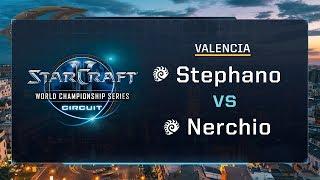 Stephano vs Nerchio ZvZ - RO16 - WCS Valencia 2017 - StarCraft II
