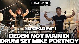 DEDEN NOY MAIN DI DRUM SET MIKE PORTNOY | DT-  Metropolis - Part I: