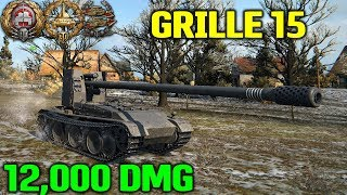 World Of Tanks | Grille 15 - 12000 Damage