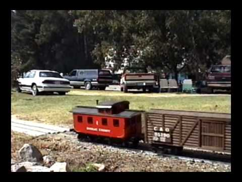 Apex NC 10.03.98: Central Carolina Live Steamers Meet