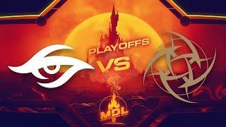 Secret vs NiP Game 1 - MDL Paris Major EU Qualifiers: Semifinals