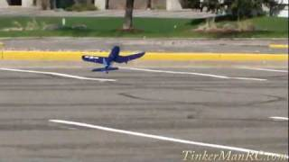 Parkzone F-4U Ultra Micro Corsair Maiden Flight
