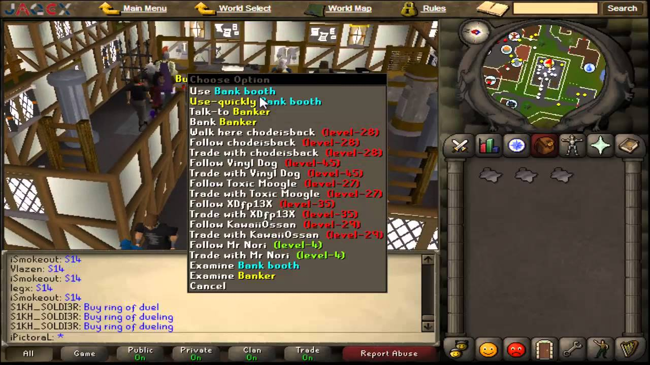 Runescape? how can i make money fast?
