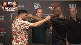 TENSE!!! UFC Hamburg Staredowns From Media Day