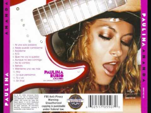 Paulina Rubio - Aunque No Sea Conmigo